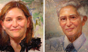 Painting research: ISU faculty join ranks of 'Faces of Iowa State'